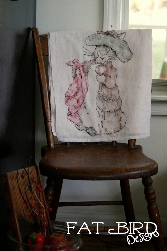 Peter Rabbit towel