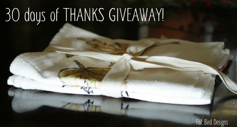 GIVE THANKS GIVEAWAY