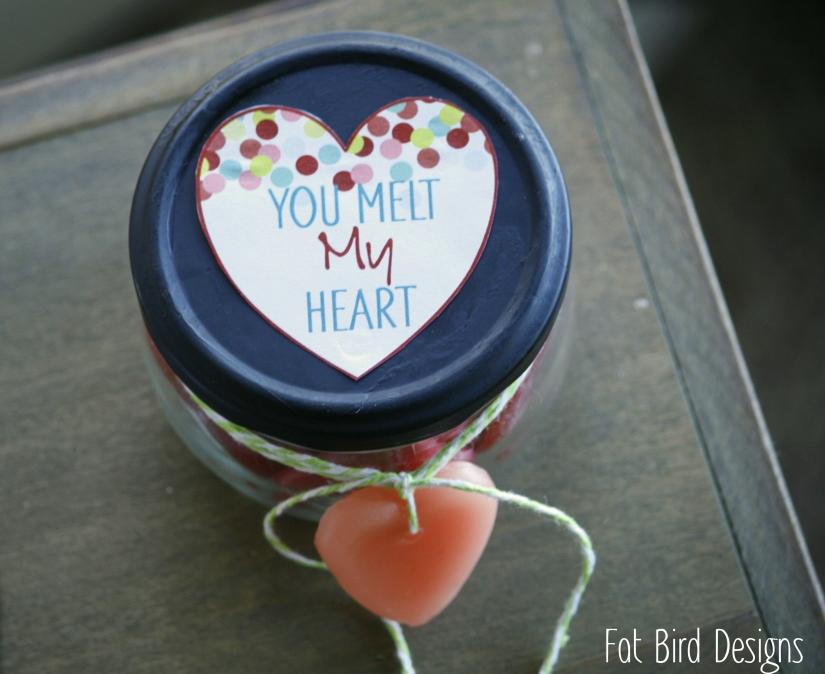 DIY Valentine Fat Bird Designs