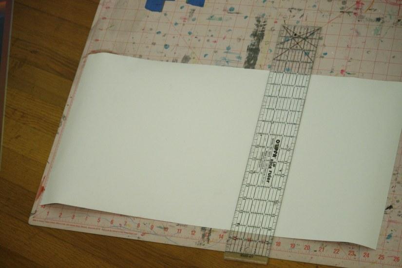 cut wallpaper